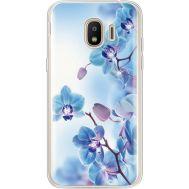 Силиконовый чехол BoxFace Samsung J250 Galaxy J2 (2018) Orchids (935055-rs16)