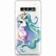 Силиконовый чехол BoxFace Samsung G975 Galaxy S10 Plus Unicorn Queen (935881-rs3)