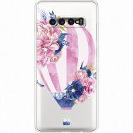 Силиконовый чехол BoxFace Samsung G975 Galaxy S10 Plus Pink Air Baloon (935881-rs6)