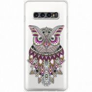 Силиконовый чехол BoxFace Samsung G975 Galaxy S10 Plus Owl (935881-rs9)