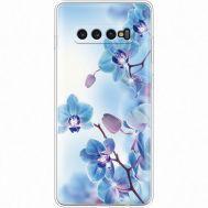 Силиконовый чехол BoxFace Samsung G975 Galaxy S10 Plus Orchids (935881-rs16)