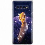 Силиконовый чехол BoxFace Samsung G975 Galaxy S10 Plus Girl with Umbrella (935881-rs20)