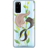 Силиконовый чехол BoxFace Samsung G980 Galaxy S20 Cute Mermaid (38870-cc62)