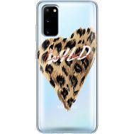 Силиконовый чехол BoxFace Samsung G980 Galaxy S20 Wild Love (38870-cc64)