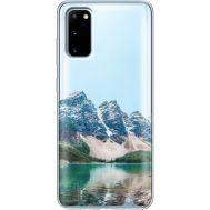 Силиконовый чехол BoxFace Samsung G980 Galaxy S20 Blue Mountain (38870-cc68)