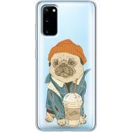 Силиконовый чехол BoxFace Samsung G980 Galaxy S20 Dog Coffeeman (38870-cc70)