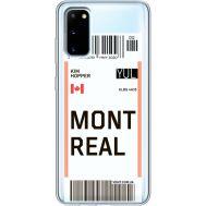 Силиконовый чехол BoxFace Samsung G980 Galaxy S20 Ticket Monreal (38870-cc87)