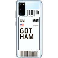 Силиконовый чехол BoxFace Samsung G980 Galaxy S20 Ticket Gotham (38870-cc92)