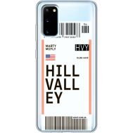 Силиконовый чехол BoxFace Samsung G980 Galaxy S20 Ticket Hill Valley (38870-cc94)