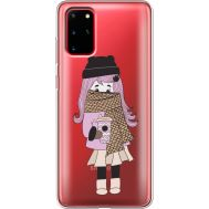Силиконовый чехол BoxFace Samsung G985 Galaxy S20 Plus Winter Morning Girl (38875-cc61)