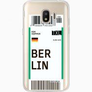 Силиконовый чехол BoxFace Samsung J250 Galaxy J2 (2018) Ticket Berrlin (35055-cc80)