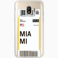 Силиконовый чехол BoxFace Samsung J250 Galaxy J2 (2018) Ticket Miami (35055-cc81)