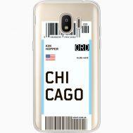 Силиконовый чехол BoxFace Samsung J250 Galaxy J2 (2018) Ticket Chicago (35055-cc82)