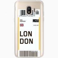 Силиконовый чехол BoxFace Samsung J250 Galaxy J2 (2018) Ticket London (35055-cc83)