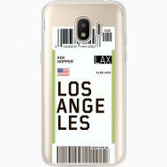 Силиконовый чехол BoxFace Samsung J250 Galaxy J2 (2018) Ticket Los Angeles (35055-cc85)