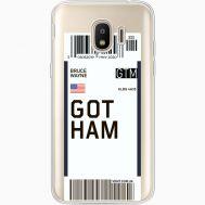 Силиконовый чехол BoxFace Samsung J250 Galaxy J2 (2018) Ticket Gotham (35055-cc92)