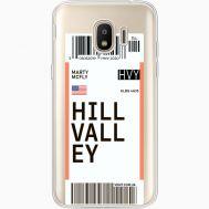Силиконовый чехол BoxFace Samsung J250 Galaxy J2 (2018) Ticket Hill Valley (35055-cc94)