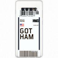 Силиконовый чехол BoxFace Samsung G975 Galaxy S10 Plus Ticket Gotham (35881-cc92)