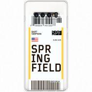Силиконовый чехол BoxFace Samsung G975 Galaxy S10 Plus Ticket Springfield (35881-cc93)
