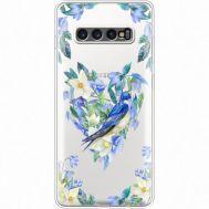 Силиконовый чехол BoxFace Samsung G975 Galaxy S10 Plus Spring Bird (35881-cc96)