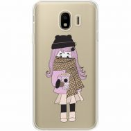 Силиконовый чехол BoxFace Samsung J400 Galaxy J4 2018 Winter Morning Girl (35018-cc61)