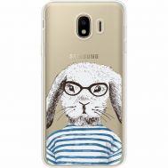 Силиконовый чехол BoxFace Samsung J400 Galaxy J4 2018 MR. Rabbit (35018-cc71)