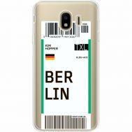 Силиконовый чехол BoxFace Samsung J400 Galaxy J4 2018 Ticket Berrlin (35018-cc80)