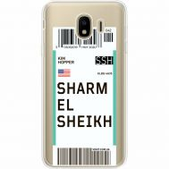 Силиконовый чехол BoxFace Samsung J400 Galaxy J4 2018 Ticket Sharmel Sheikh (35018-cc90)