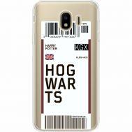 Силиконовый чехол BoxFace Samsung J400 Galaxy J4 2018 Ticket Hogwarts (35018-cc91)