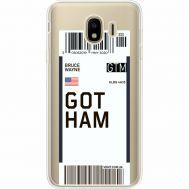 Силиконовый чехол BoxFace Samsung J400 Galaxy J4 2018 Ticket Gotham (35018-cc92)