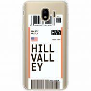 Силиконовый чехол BoxFace Samsung J400 Galaxy J4 2018 Ticket Hill Valley (35018-cc94)
