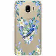 Силиконовый чехол BoxFace Samsung J400 Galaxy J4 2018 Spring Bird (35018-cc96)