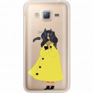 Силиконовый чехол BoxFace Samsung J320 Galaxy J3 Just a Girl (35056-cc60)
