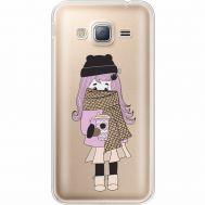 Силиконовый чехол BoxFace Samsung J320 Galaxy J3 Winter Morning Girl (35056-cc61)