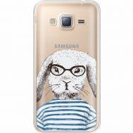 Силиконовый чехол BoxFace Samsung J320 Galaxy J3 MR. Rabbit (35056-cc71)