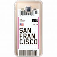 Силиконовый чехол BoxFace Samsung J320 Galaxy J3 Ticket San Francisco (35056-cc79)