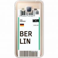 Силиконовый чехол BoxFace Samsung J320 Galaxy J3 Ticket Berrlin (35056-cc80)