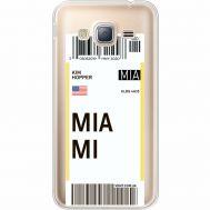 Силиконовый чехол BoxFace Samsung J320 Galaxy J3 Ticket Miami (35056-cc81)