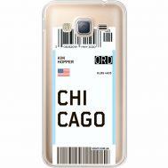 Силиконовый чехол BoxFace Samsung J320 Galaxy J3 Ticket Chicago (35056-cc82)