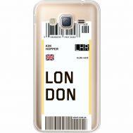 Силиконовый чехол BoxFace Samsung J320 Galaxy J3 Ticket London (35056-cc83)