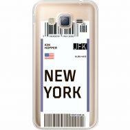 Силиконовый чехол BoxFace Samsung J320 Galaxy J3 Ticket New York (35056-cc84)