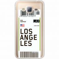 Силиконовый чехол BoxFace Samsung J320 Galaxy J3 Ticket Los Angeles (35056-cc85)