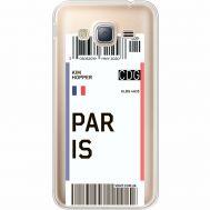 Силиконовый чехол BoxFace Samsung J320 Galaxy J3 Ticket Paris (35056-cc86)
