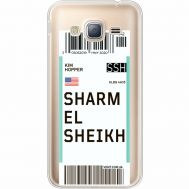 Силиконовый чехол BoxFace Samsung J320 Galaxy J3 Ticket Sharmel Sheikh (35056-cc90)