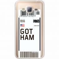 Силиконовый чехол BoxFace Samsung J320 Galaxy J3 Ticket Gotham (35056-cc92)