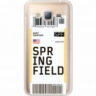 Силиконовый чехол BoxFace Samsung J320 Galaxy J3 Ticket Springfield (35056-cc93)