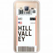 Силиконовый чехол BoxFace Samsung J320 Galaxy J3 Ticket Hill Valley (35056-cc94)