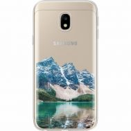 Силиконовый чехол BoxFace Samsung J330 Galaxy J3 2017 Blue Mountain (35057-cc68)