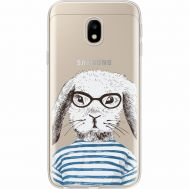 Силиконовый чехол BoxFace Samsung J330 Galaxy J3 2017 MR. Rabbit (35057-cc71)
