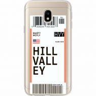 Силиконовый чехол BoxFace Samsung J330 Galaxy J3 2017 Ticket Hill Valley (35057-cc94)
